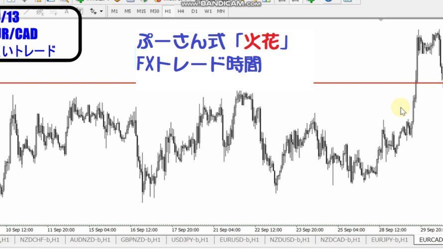 サトピーのFXトレード時間2020年10月13日(トレード結果)